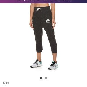 Nike capri sweat pants